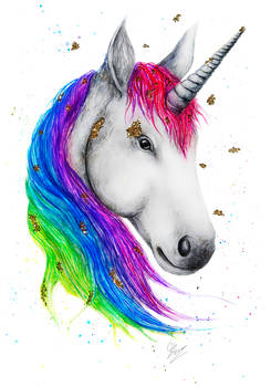 Watercolor Unicorn