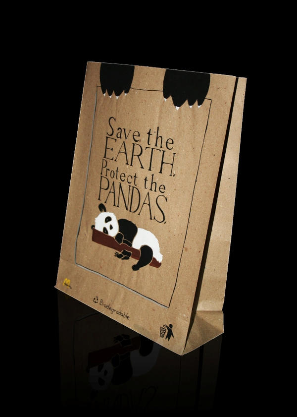 Earth Day Paper bag Design by ceanji on DeviantArt