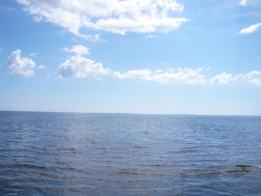 Gotland's sea. by cleverlittleunicorn