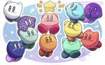 Color Kirbys