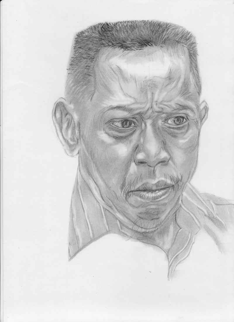 Sketsa Wajah Dengan Ekspresi Unik Tukul Arwana By Siomarif