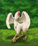multilegged chicken by SmallVixen