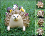Hedgehog by SmallVixen