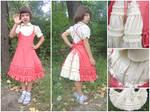 Dress for girl by SmallVixen