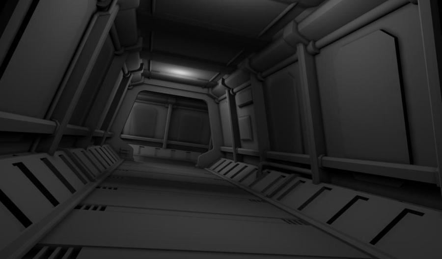 Spaceship Interior WIP By Mhofever ...