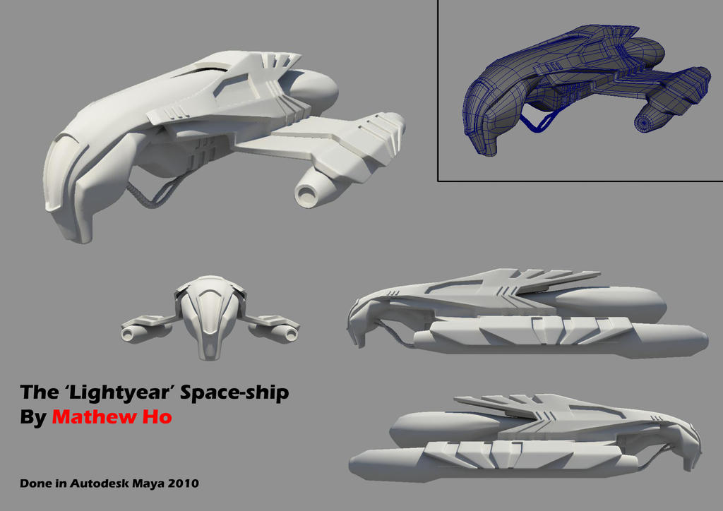 Lightyear - Spaceship by mhofever