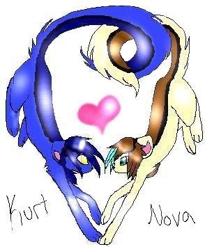 Kurt x Gwin by Nova-moon