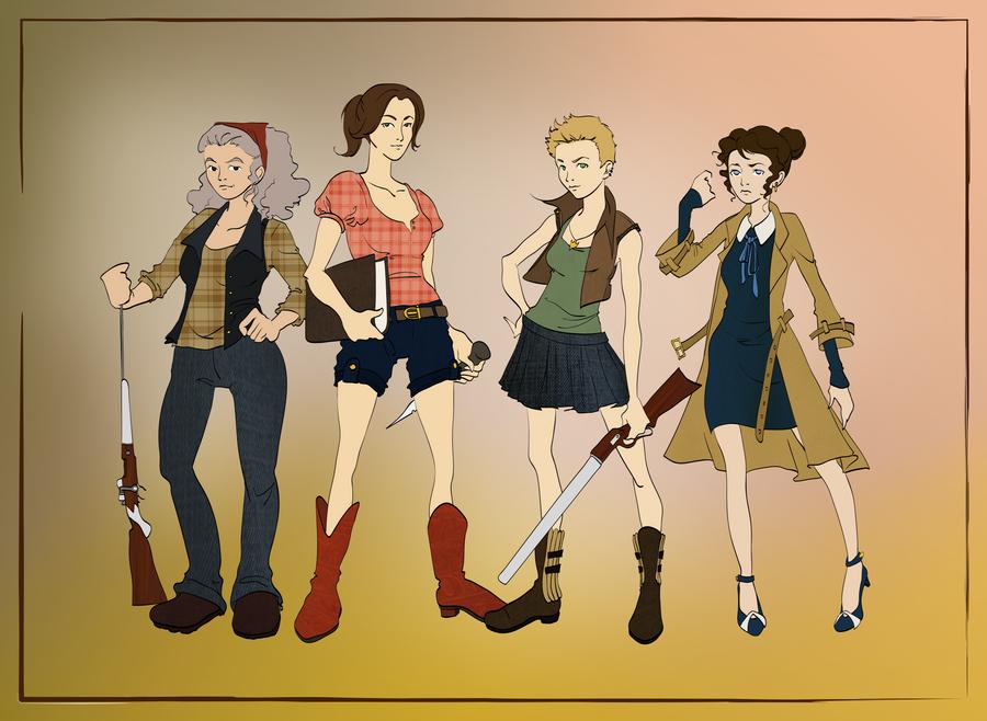 the scooby gang by AgnesPlatt