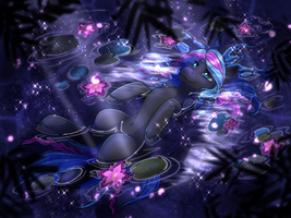 Moonlight Lotus- ObabScribbler