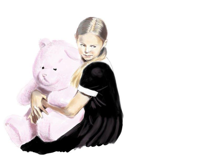 Teddy bear by Gromoptak