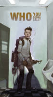 ghostbuster in trouble
