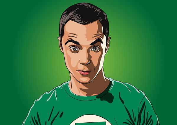 Sheldon-Cooper by Soldierski