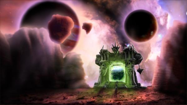 The Dark Portal by Soldierski