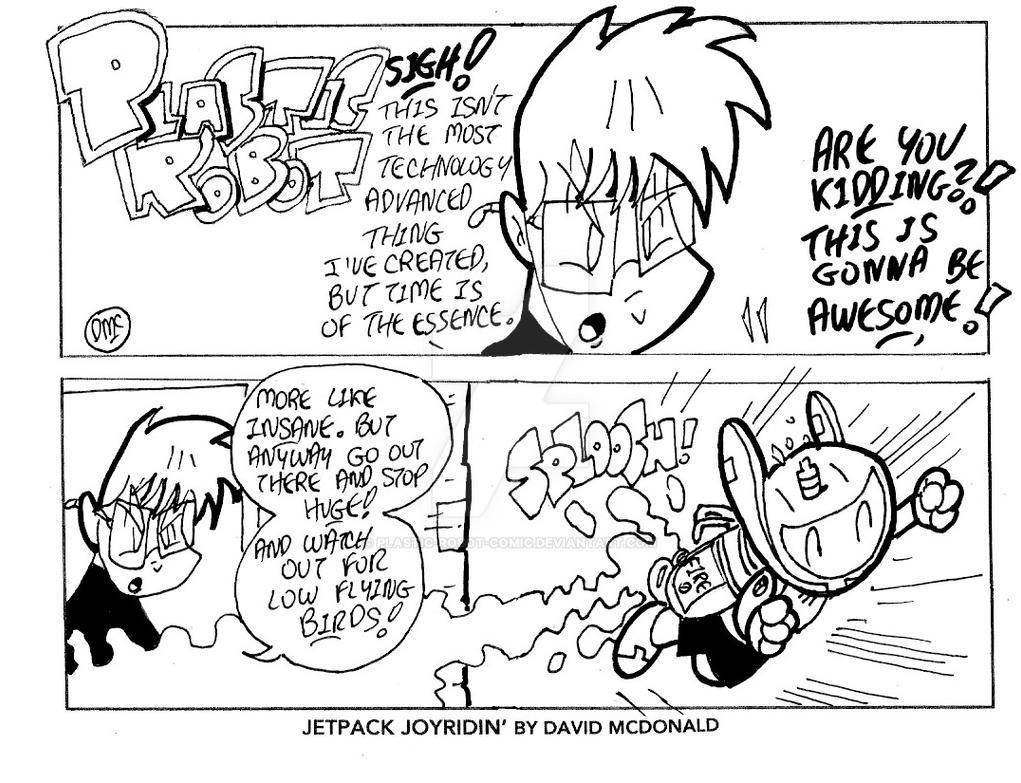 Jetpack Joyridin' by PLASTIC-ROBOT-COMIC