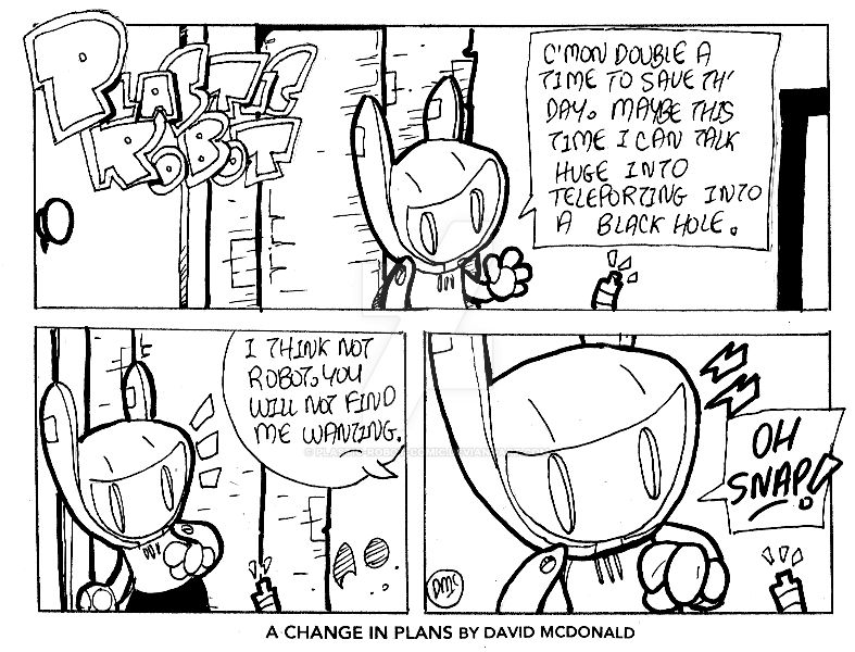 A Change In Plans by PLASTIC-ROBOT-COMIC