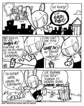The Plastic Robot Show #001