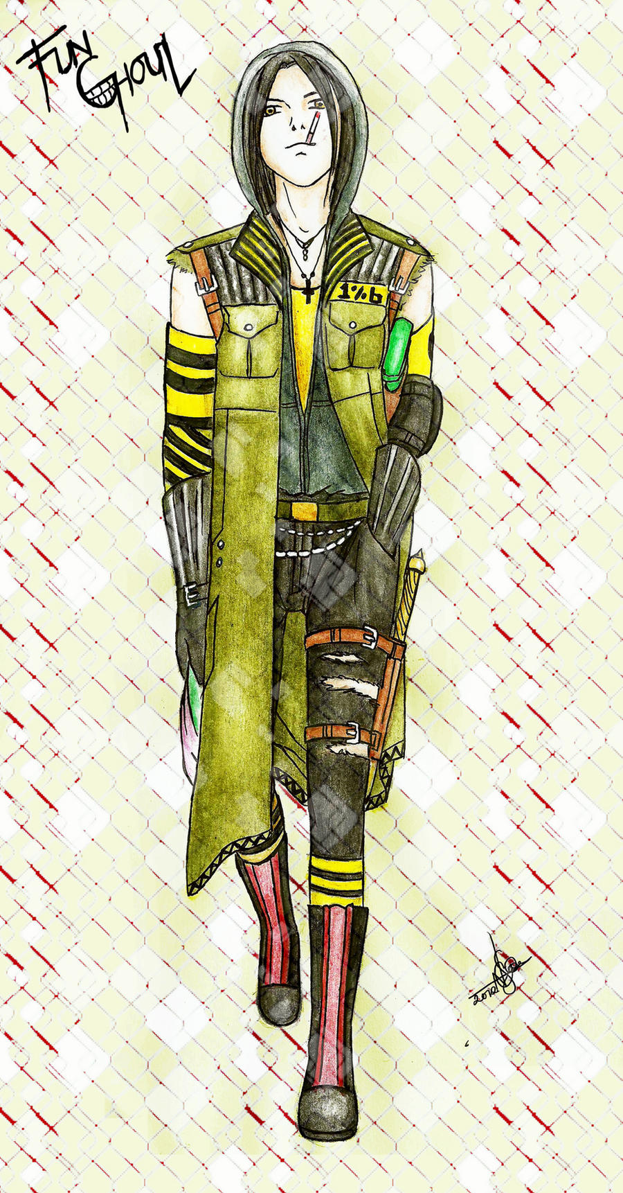 Fun Ghoul costume design by NadzEscapade