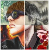 Four ways of Gerard Way