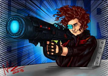 The Big Fu**** Gun by NadzEscapade