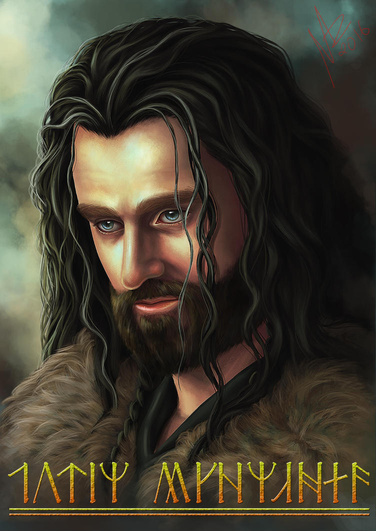 Thorin II Oakenshield by NadzEscapade