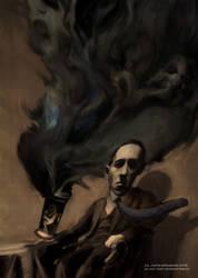 Lovecraft by vrass