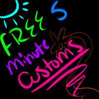 Free 5 Minute Customs closed