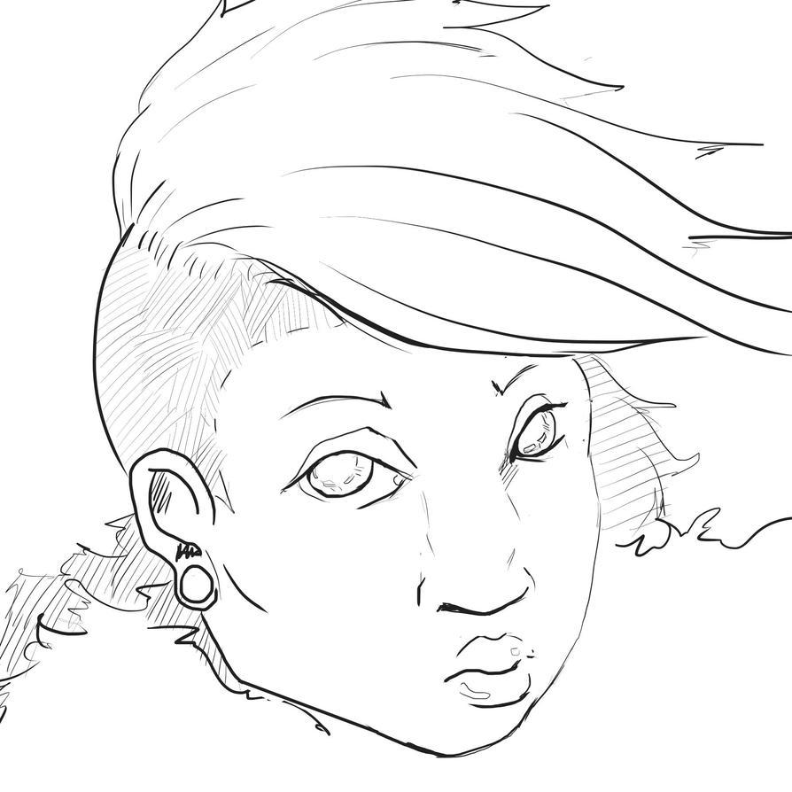Punk Femme by HeroicallyTragic
