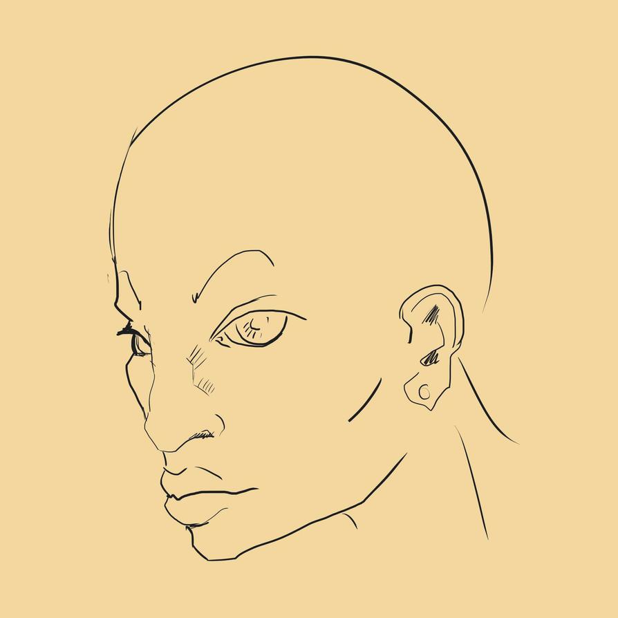 Bald Femme by HeroicallyTragic