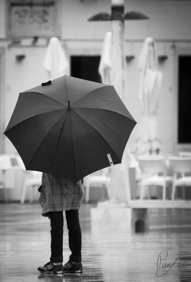 Girl with umbrella by paslea-paul on DeviantArt