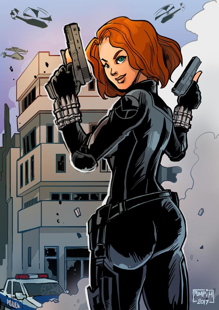 Black Widow by THEGUM90