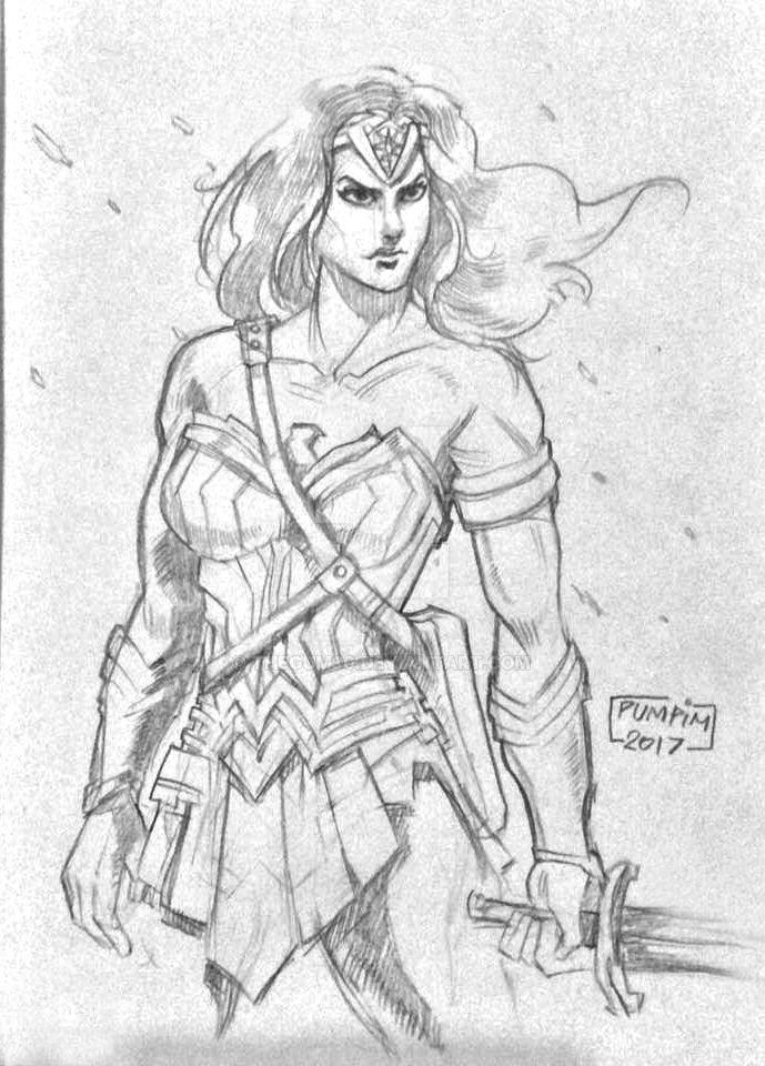 Wonder Woman fanart by THEGUM90