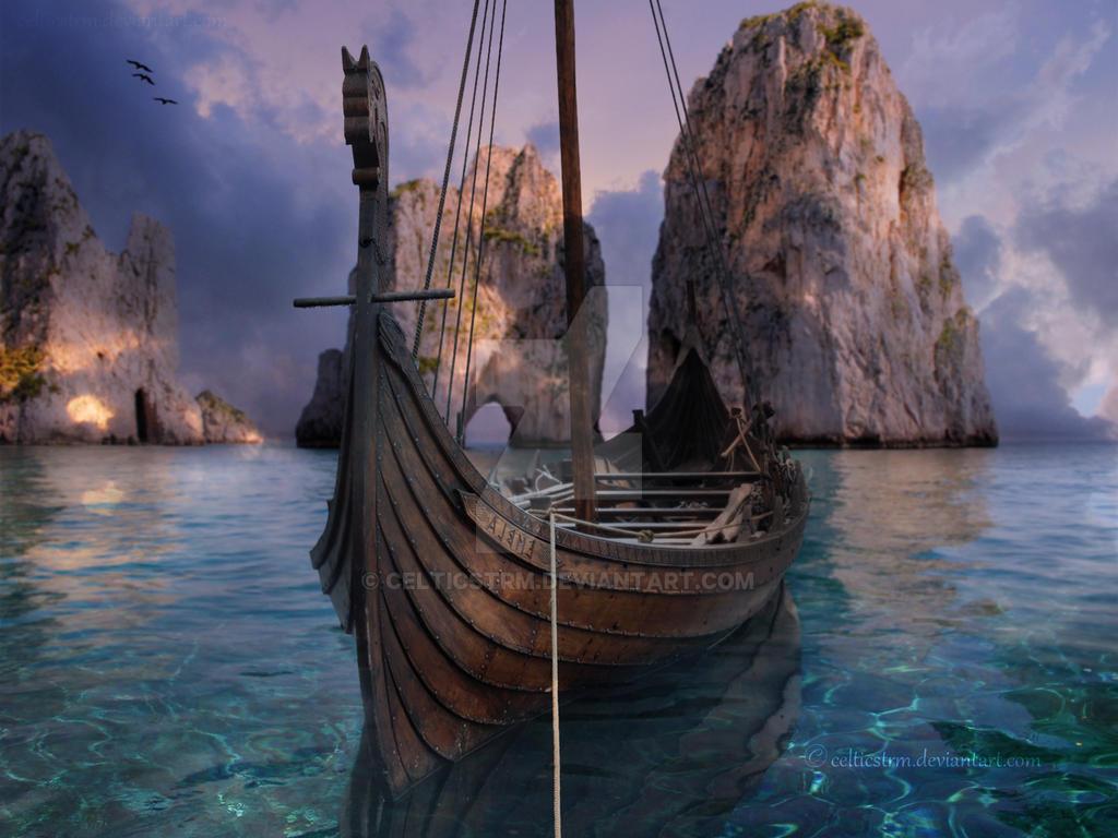 Viking Ship by CelticStrm by CelticStrm