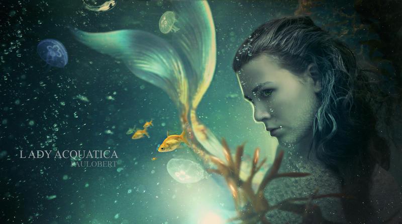 Lady Acquatica by Paulo-Bert
