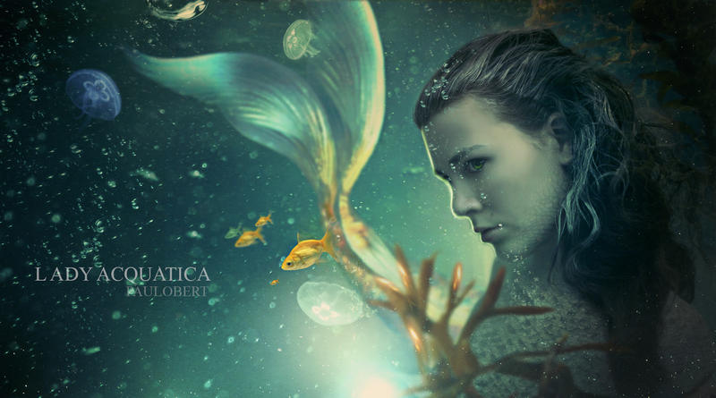 Lady Acquatica by Paulo-Bert