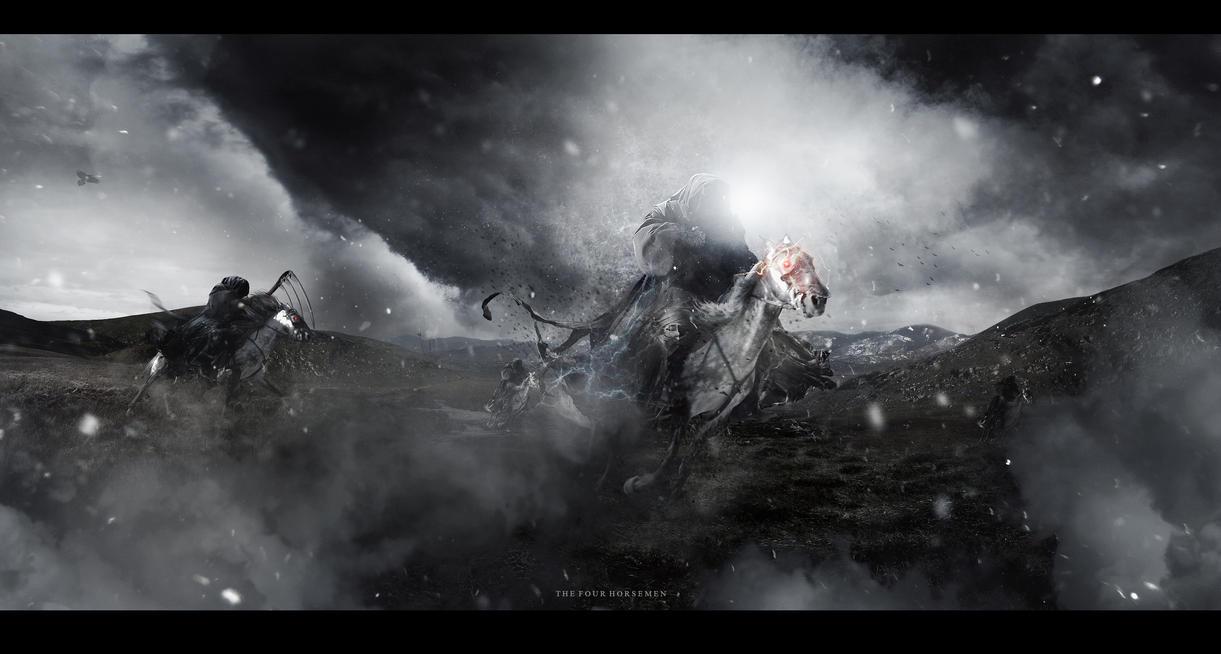 The Four Horsemen by Paulo-Bert