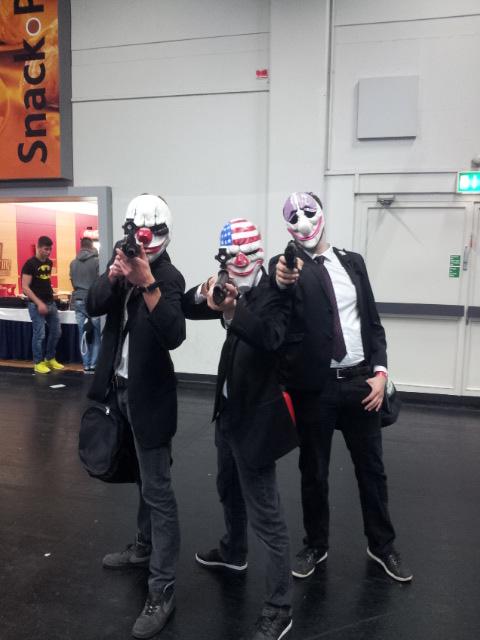 Gamescom: Jokers on their way to the bank heist! by PrimeBee1360