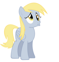 Sad Derpy by NinjamissenDk