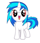 Vinyl Scratch filly - Request