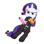 Soul Eater x MLP Rarity - Pinkie Pie - Apple Jack