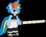 Soul Eater x MLP Rainbow Dash - Fluttershy