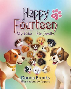 Rhyming story of Cute Little puppies by storybookillustrator