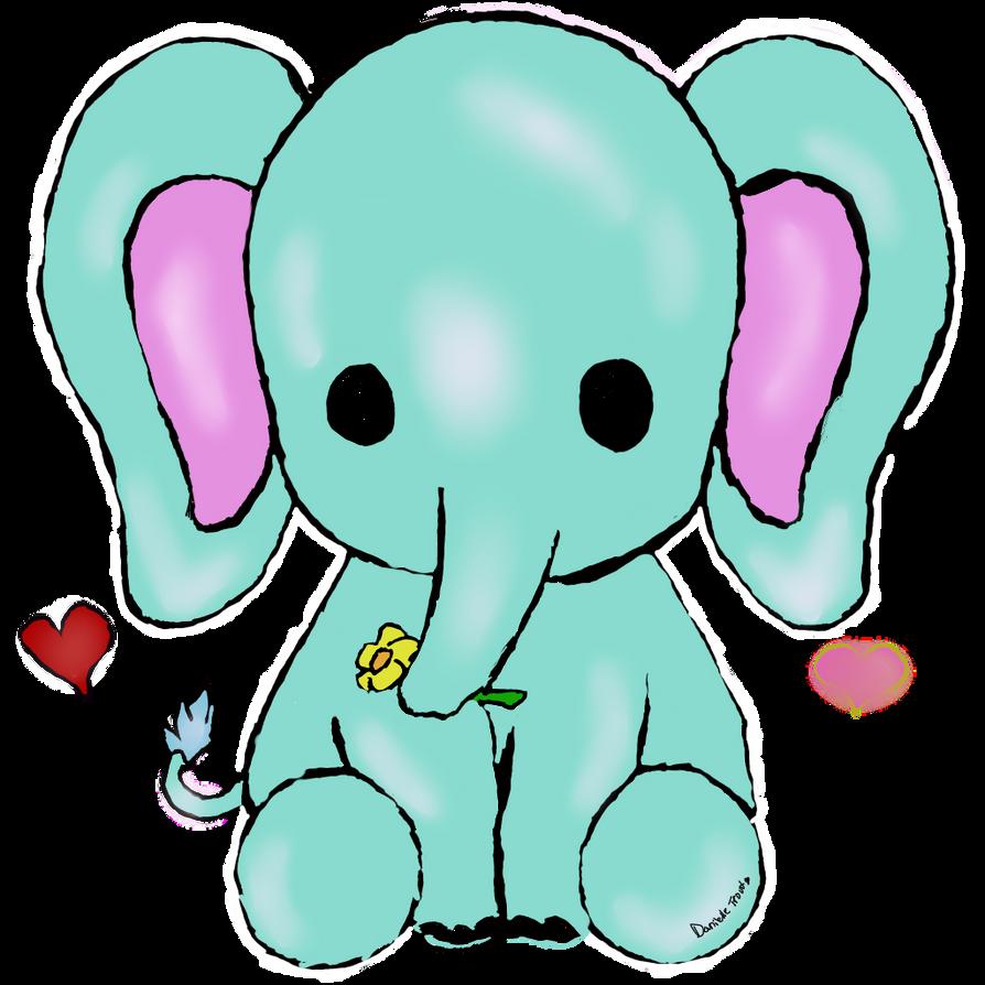 Good Wallpaper Minecraft Kawaii - kawaii_elephant_by_uniquecomedy-d9q1x8y  Pic_31786.png