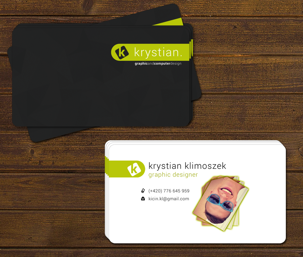 My business card by kicin on deviantart for My business card