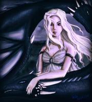 Daenerys Targaryen by SummonnerYuna