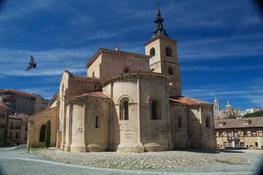 Church Bird, Segovia, Spain