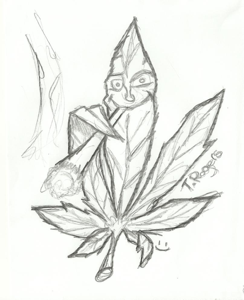Cool Weed Leaf Drawings Cool weed leaf drawings
