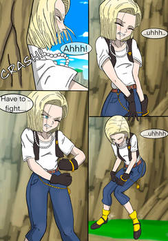Android 18 Absorption Story (prologue) page 4