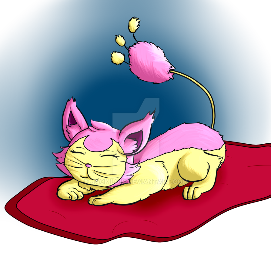 Skitty by Jackiloid