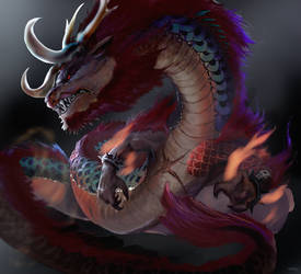 Kaido of the Hundred Beasts by xraypr