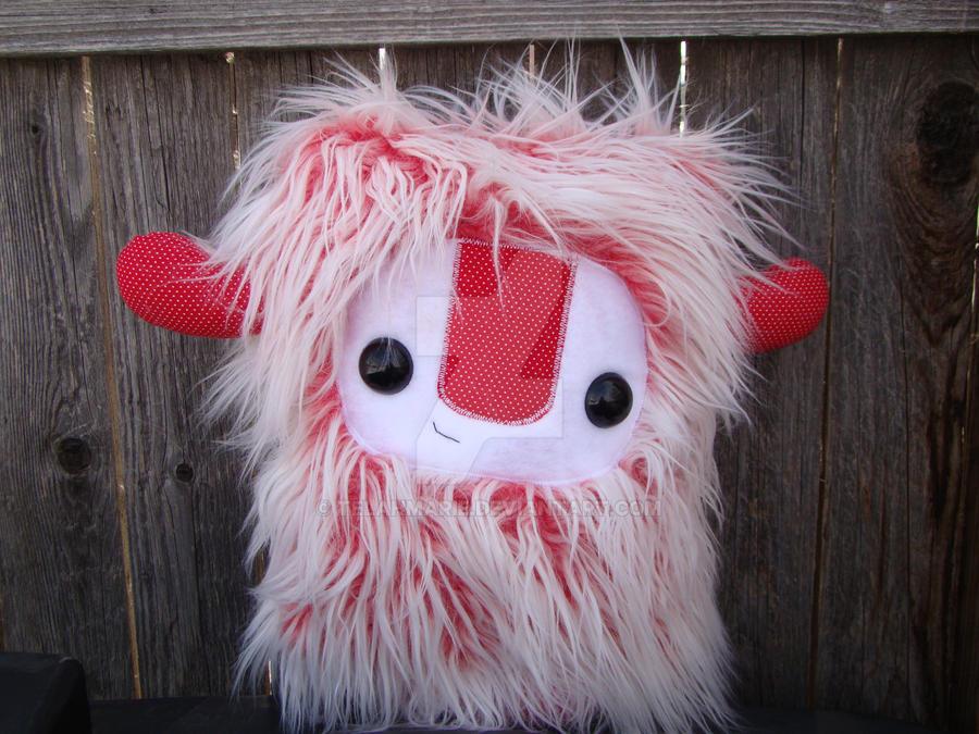 monster pillow plush by Telahmarie